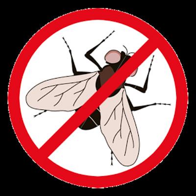 anti vlieg uithang bord